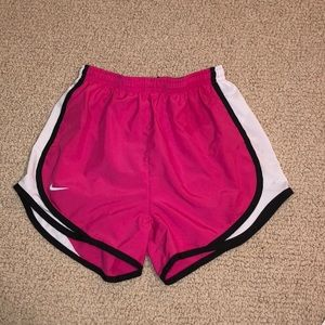 Pink Nike shorts XS great condition!
